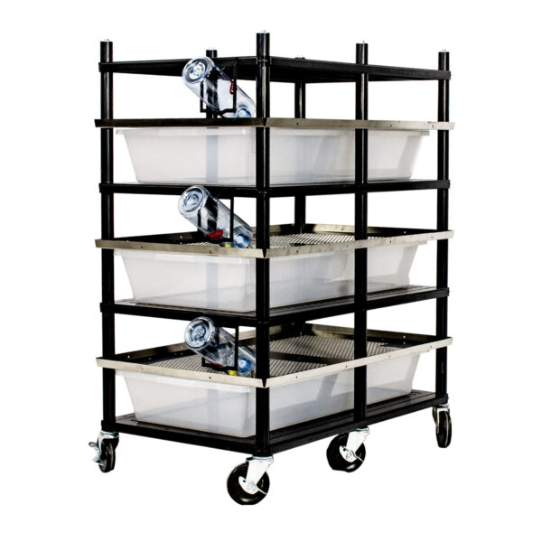 Vision Products 3 level rodent breeding rack for V-70 tubs