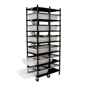 Vision Products 6 level rodent breeding rack for V-70 tubs