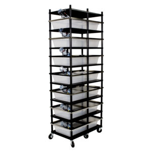Vision Products 7 level rodent breeding rack for V-70 tubs