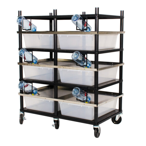 Vision Products 3 level rodent breeding rack for V-35 tubs