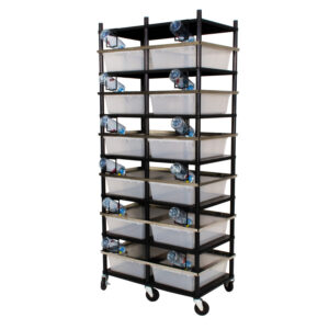 Vision Products 6 level rodent breeding rack for V-35 tubs