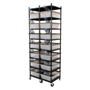 Vision Products 7 level rodent breeding rack for V-35 tubs