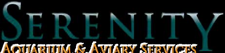Serenity Aviary & Aquarium Services logo